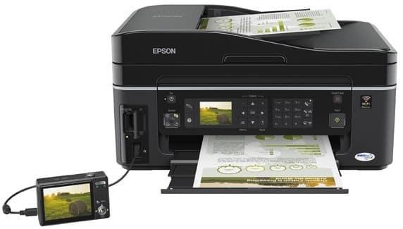 Сброс памперса Epson Stylus SX600FW
