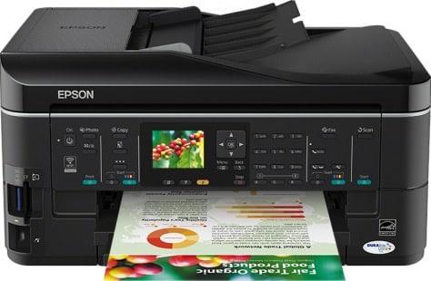 Сброс памперса Epson Stylus SX620FW