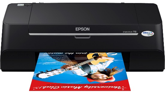 Сброс памперса Epson Stylus T10