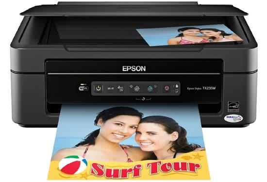 Сброс памперса Epson Stylus TX235W