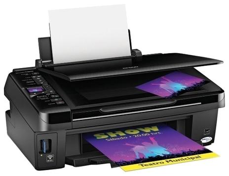 Сброс памперса Epson Stylus TX420W и прошивка принтера