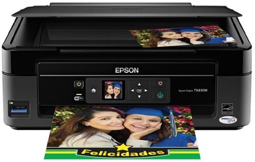 Сброс памперса Epson Stylus TX430W и прошивка принтера