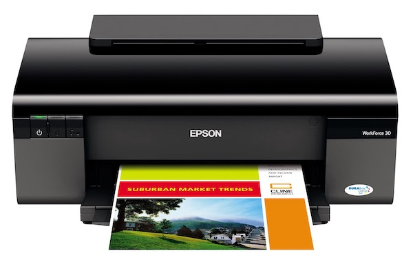 Сброс памперса Epson WorkForce 30