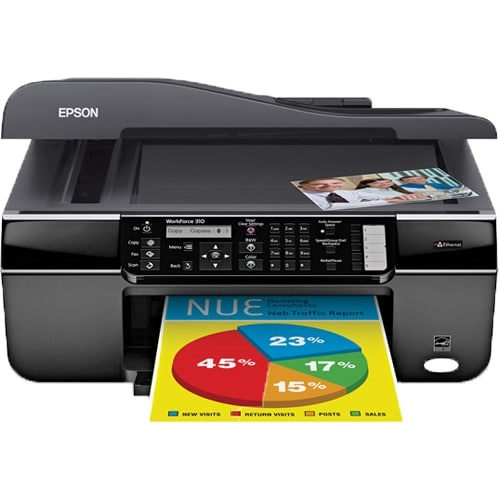 Сброс памперса Epson WorkForce 310
