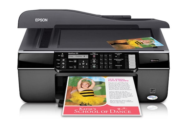 Сброс памперса Epson WorkForce 315