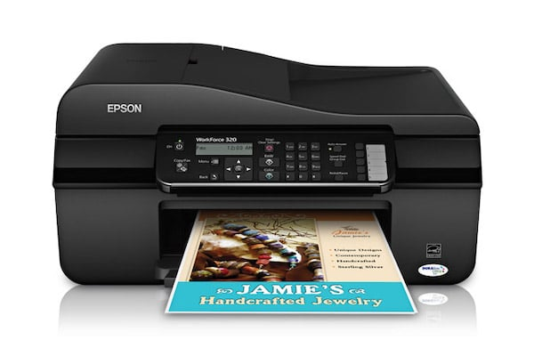Сброс памперса Epson WorkForce 320