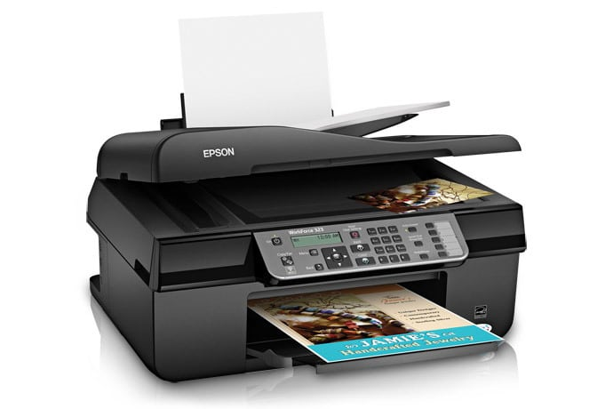 Сброс памперса Epson WorkForce 323