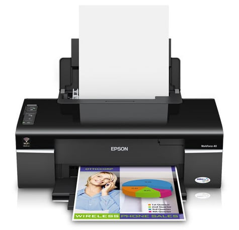 Сброс памперса Epson WorkForce 40