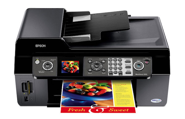 Сброс памперса Epson WorkForce 500