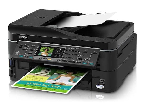 Сброс памперса Epson WorkForce 545 и прошивка принтера
