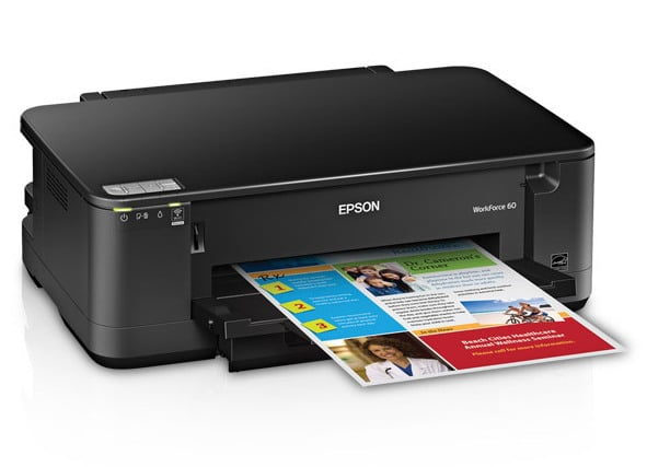 Сброс памперса Epson WorkForce 60