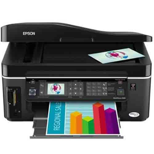 Сброс памперса Epson WorkForce 615