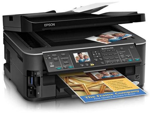 Сброс памперса Epson WorkForce 630 и прошивка принтера