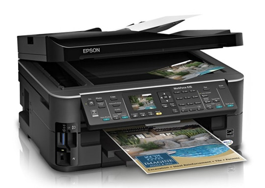 Сброс памперса Epson WorkForce 635