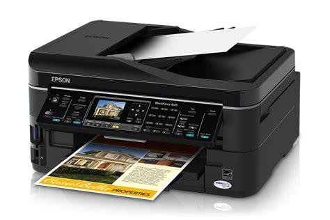 Сброс памперса Epson WorkForce 645
