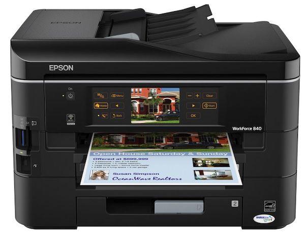 Сброс памперса Epson WorkForce 840 и прошивка принтера