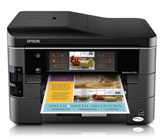 Сброс памперса Epson WorkForce 845