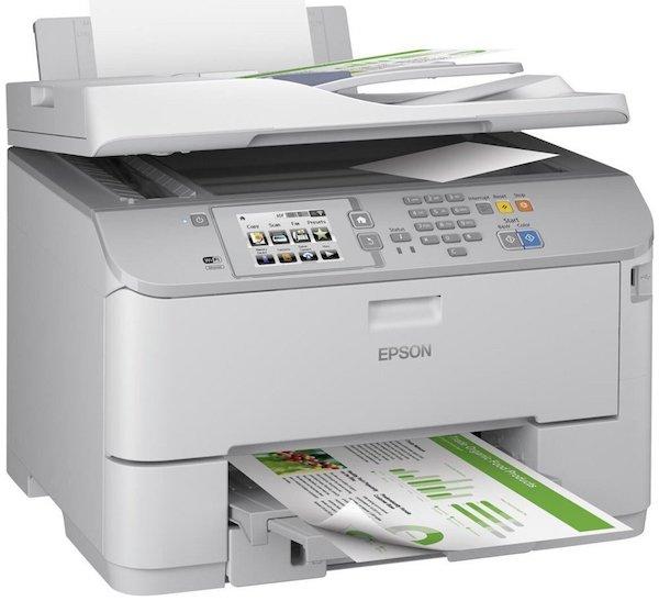 Сброс памперса Epson WorkForce Pro WF-5620DWF и прошивка принтера