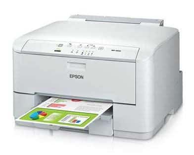 Сброс памперса Epson WorkForce Pro WP-4010 и прошивка принтера