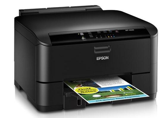 Сброс памперса Epson WorkForce Pro WP-4020 и прошивка принтера