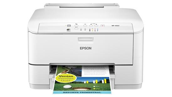 Сброс памперса Epson WorkForce Pro WP-4022 и прошивка принтера