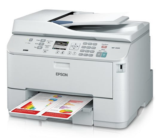 Сброс памперса Epson WorkForce Pro WP-4520 и прошивка принтера
