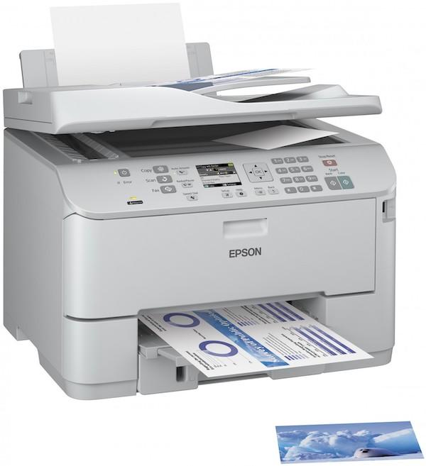 Сброс памперса Epson WorkForce Pro WP-4525DNF и прошивка принтера