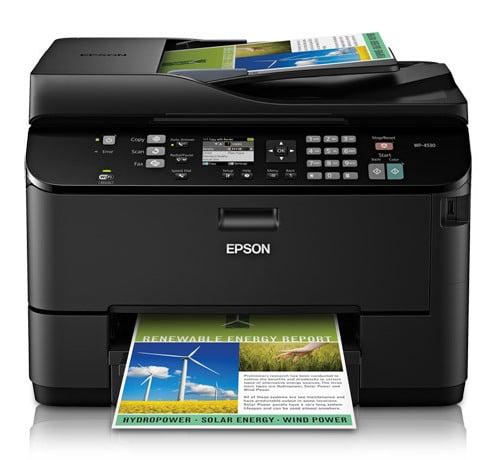 Сброс памперса Epson WorkForce Pro WP-4530 и прошивка принтера