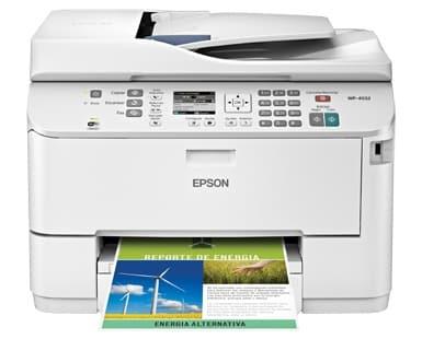 Сброс памперса Epson WorkForce Pro WP-4532 и прошивка принтера