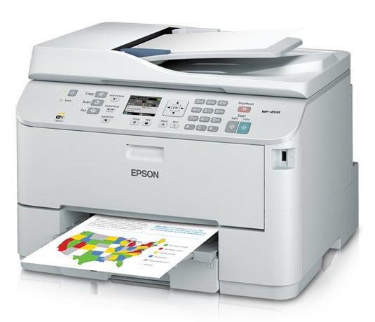 Сброс памперса Epson WorkForce Pro WP-4533 и прошивка принтера