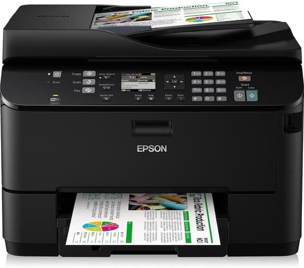 Сброс памперса Epson WorkForce Pro WP-4535DWF и прошивка принтера