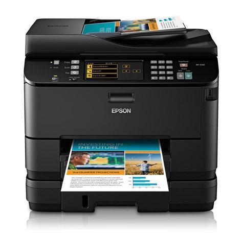 Сброс памперса Epson WorkForce Pro WP-4540 и прошивка принтера