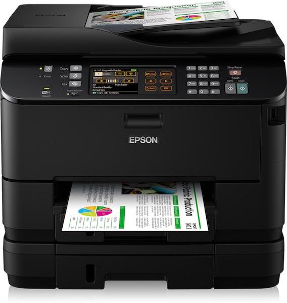 Сброс памперса Epson WorkForce Pro WP-4545DTWF и прошивка принтера