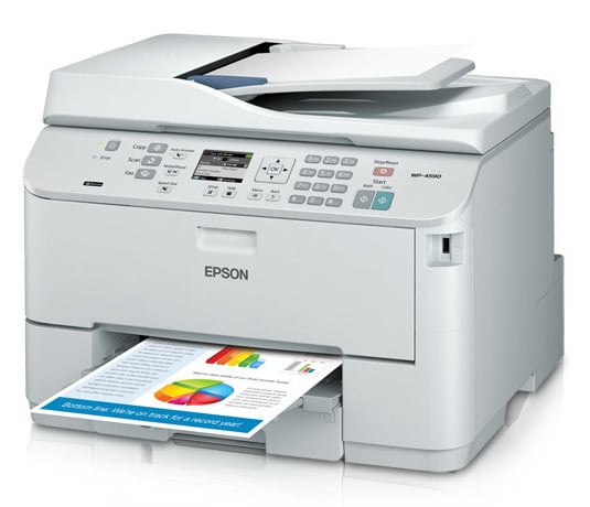 Сброс памперса Epson WorkForce Pro WP-4590 и прошивка принтера