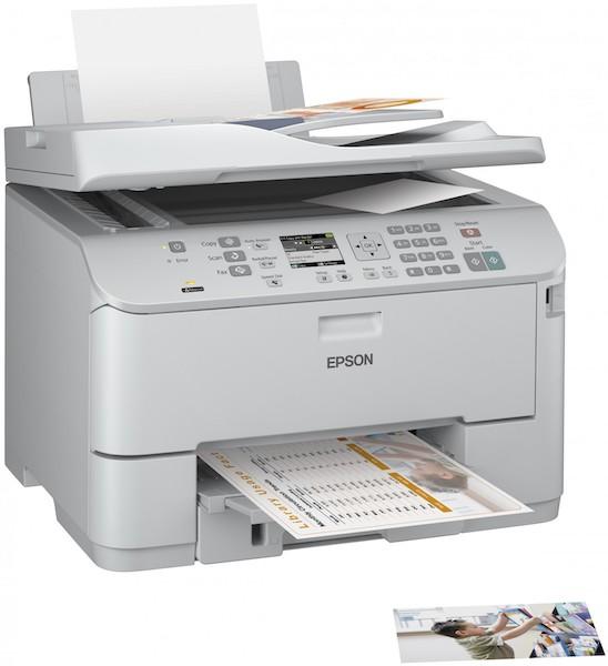 Сброс памперса Epson WorkForce Pro WP-4595DNF и прошивка принтера