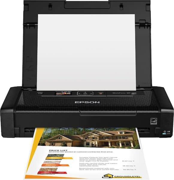Сброс памперса Epson WorkForce WF-100 и прошивка принтера