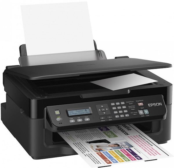 Сброс памперса Epson WorkForce WF-2510WF