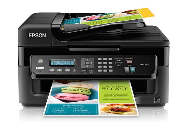 Сброс памперса Epson WorkForce WF-2520