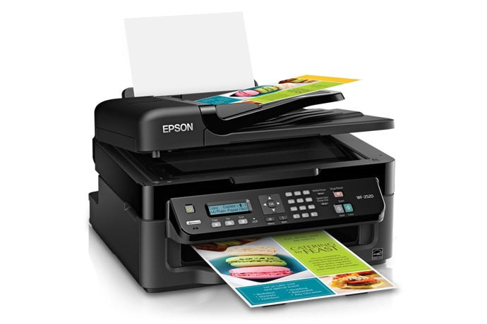 Сброс памперса Epson WorkForce WF-2521
