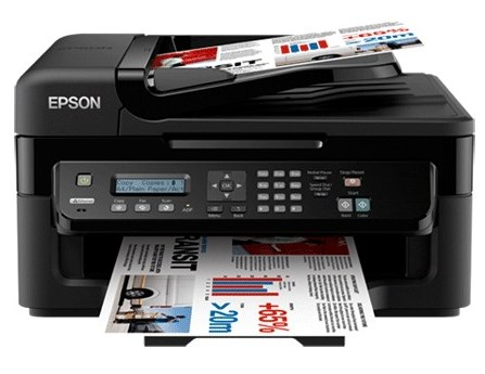 Сброс памперса Epson WorkForce WF-2528