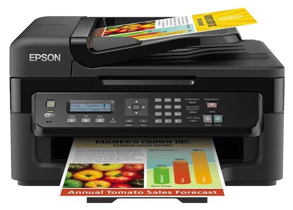 Сброс памперса Epson WorkForce WF-2530