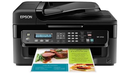Сброс памперса Epson WorkForce WF-2532
