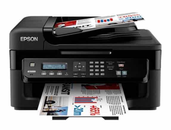 Сброс памперса Epson WorkForce WF-2538 и прошивка принтера