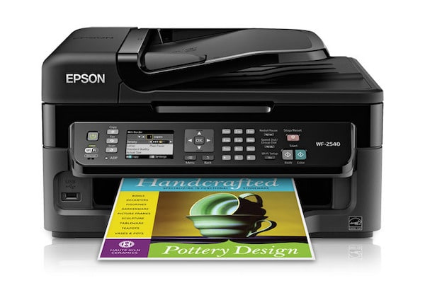 Сброс памперса Epson WorkForce WF-2540