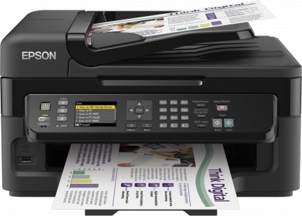Сброс памперса Epson WorkForce WF-2548