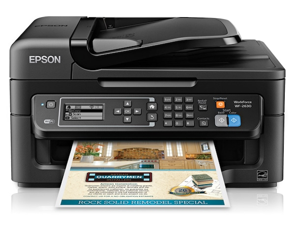 Сброс памперса Epson WorkForce WF-2630