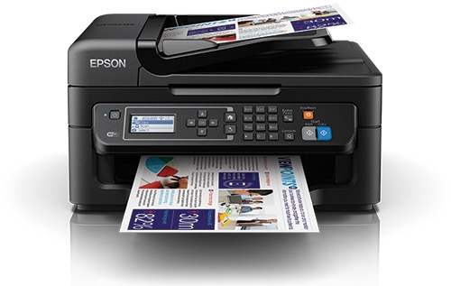 Сброс памперса Epson WorkForce WF-2631