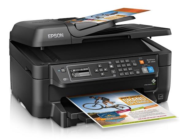 Сброс памперса Epson WorkForce WF-2650 и прошивка принтера