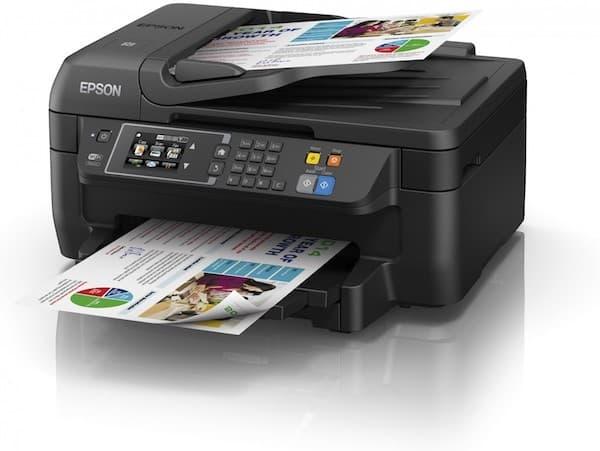 Сброс памперса Epson WorkForce WF-2660 и прошивка принтера