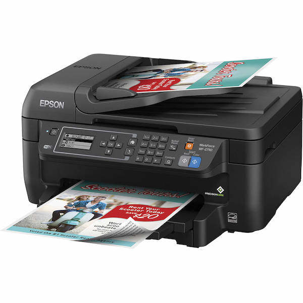 Сброс памперса Epson WorkForce WF-2750